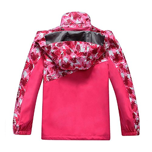 e3eb514b7 Amazon.com  Valentina Boys Girls Outdoor Winter Two-Piece Coat 3-1 ...