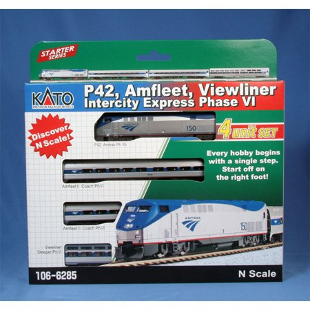 Kato USA Model Train Products P42, Amfleet and Viewliner for sale  Delivered anywhere in USA