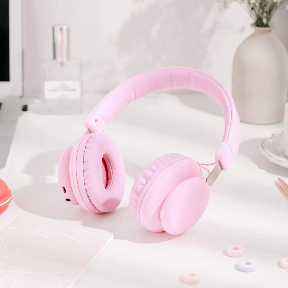 YuTouShan BH2 Wireless Bluetooth Headphones (Pink)