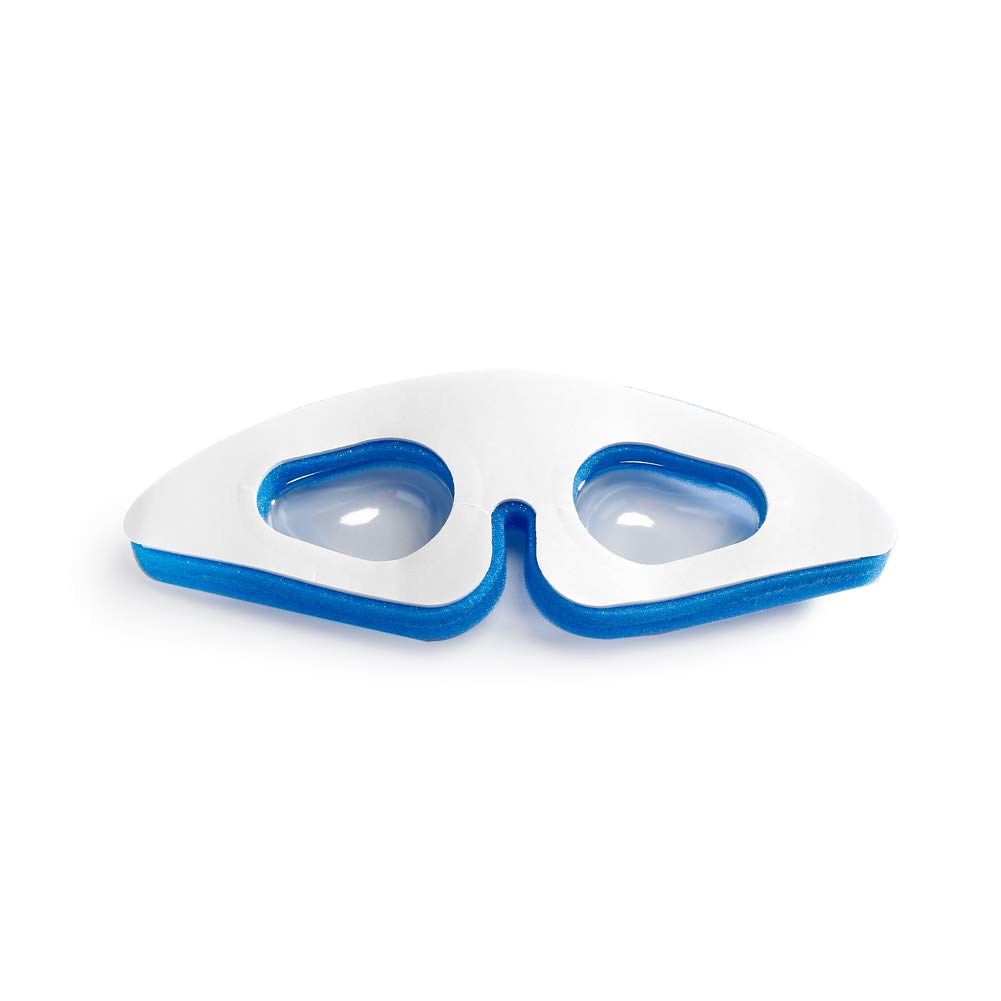 MediChoice Double Foam Cushion Eye Protectors, Adult, Blue, 1314EP3500 (Case of 25) by MediChoice