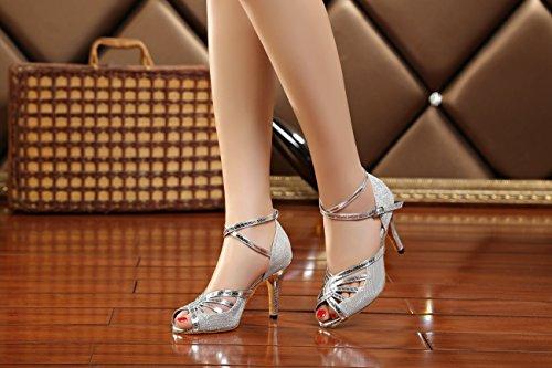8 Donna 5cm silver Heel Miyoopark 35 Argento Ballroom xSICwwqA