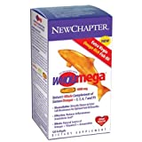 Wholemega, 1000 mg, 120 Softgels by New Chapter (Pack of 3)