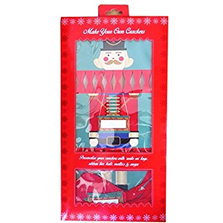 Christmas Cracker Toys.Toy Soldier Christmas Crackers Make Your Own With Tags Silk Ribbon Hats Mottos And Snaps