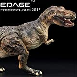 EDAGE 1/35 Tarbosaurus Statue Realistic Jurassic Dinosaur Action Figure Tyrannosauroidea PVC Model Toys Dinosauri Collector Decor Gift for Adult (Without Base)