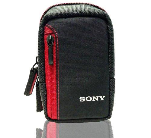 Red Case for Sony Cyber-shot DSC-W690, DSC-WX150, DSC-W650, DSC-RX100, DSC-TX20, DSC-WX80, DSC-TX30, DSC-710, DSC-W620 Cybershot - Wx150 Camera Sony