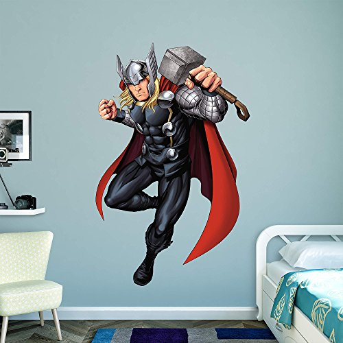 Fathead peel and stick decals marvel avengers assemble for Avengers wall mural amazon