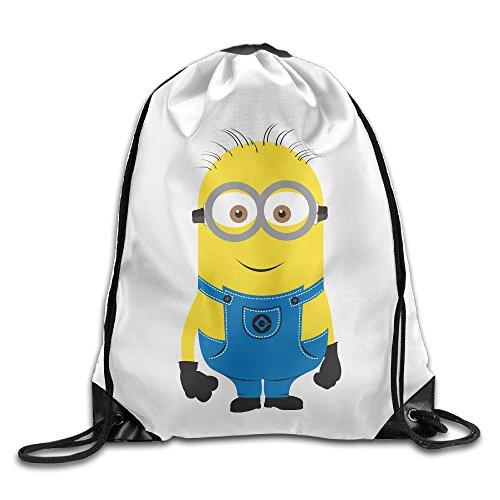 YesYouGO Lovely Minions Unisex Drawstring Backpacks/Bags