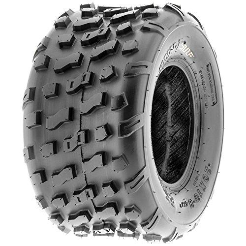 Set of 2 SunF 20x10-9 20x10x9 ATV UTV Knobby Rear Tire 4 Ply A022 by SunF (Image #9)