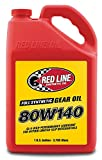 Red Line 58105 80W140 Synthetic Gear Oil - 1 Gallon, (Pack of 4)