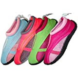 Wholesale Women's Aqua Shoes , water shoes , aqua socks, swimming shoes, Pool, Beach Aqua Socks, Yoga , Exercise (6-11)