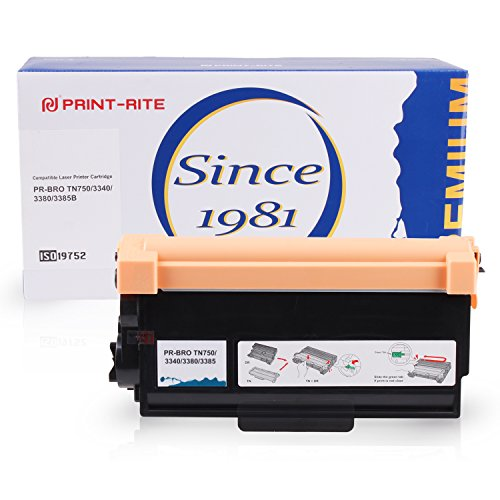 750 Black Toner - PRINT-RITE Toner Cartridge For Brother TN750 TN-750 TN720 1 Pack Black 8,000 Page High Yield Use In Brother HL-5450DN HL-5470DW HL-6180DW DCP-8110DN MFC-8710DW Series Printers