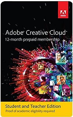 Adobe Creative Cloud Student and Teacher Edition