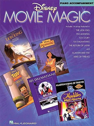 [Disney Movie Magic Piano Accompaniment For Violin, Viola And Cello] [Author: Hal Leonard Publishing Corporation] [July, 1997]