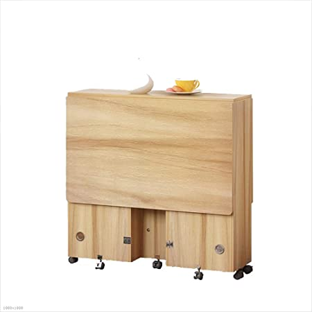 Xiaolin Mesa Plegable Mesa de Comedor Mesa de Ordenador Mesa de ...