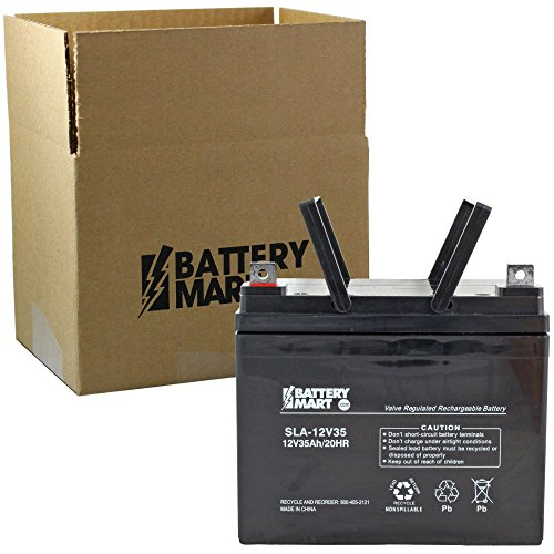 Replacement 10U1L 12 Volt 35 Ah AGM Sealed Lead Acid Rechargeable Battery, Replaces WP39-12, U1-35, UB12350, NP-33, U1-35, U1-34 and more.