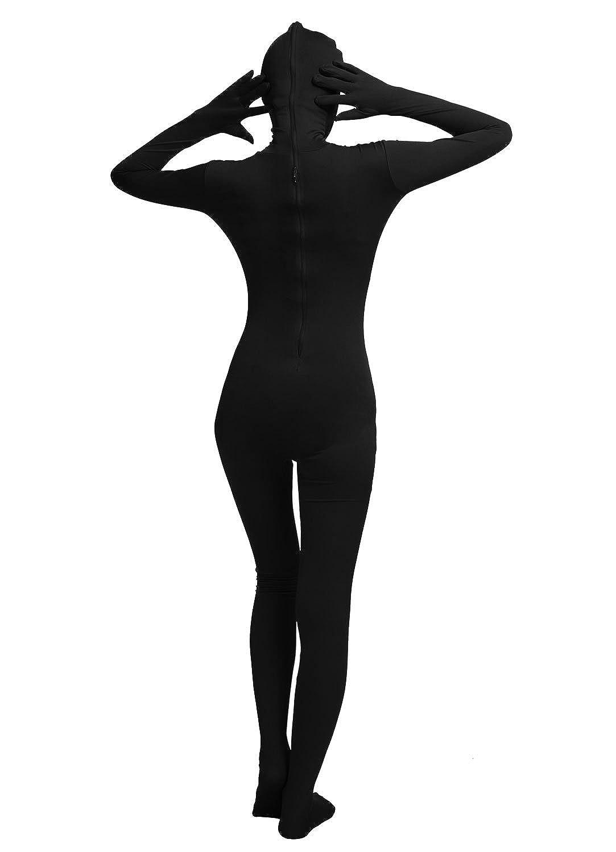 Oulinect Adults Unisex Full Lycra Spandex Bodysuit Unitard Zentai Open Eyes