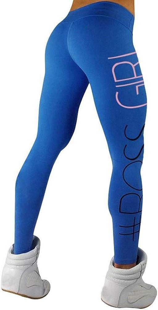 FASGION Women Casual High Waist Sports Gym Running Fitness Leggings Pants Athletic Trouser Slim Skinny Beautiful Length Pants