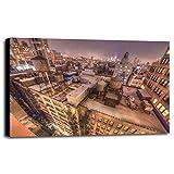 Gotham City 13 Framed Print 30.0''x45.0'' by Moises Levy