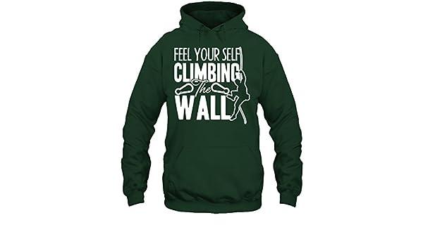 Seewhite Mountain Climbing Tshirt Design I Like to Get High T Shirt