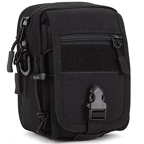 - CREATOR Tactical MOLLE EMT Medical First Aid Kit Ifak Pouch Rip-Away EMT Bag Pouch - Black
