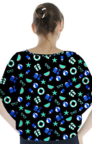CowCow - Camisas - para mujer Blue and Black