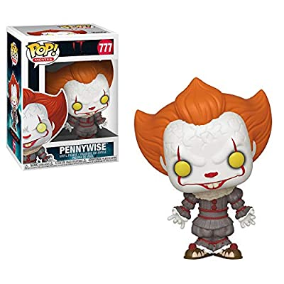 Funko Horror: Pop! Movies It Chapter 2 Collectors Set - Pennywise with Open Arms, Pennywise with Balloon, Pennywise Funhouse: Toys & Games
