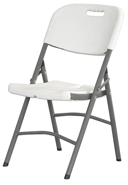 Interouge - Juego de 6 sillas plegables, premium ...