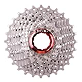 Traumer ZTTO 11 Speed Cassette 11-28T Compatible for Road Bike Shimano Sram System High Tensile Steel Sprockets Cogs Folding Gear