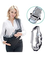 GBlife Porte Bébé Ventraux Ergonomique 4 en 1 Multiples Positions Multi-fonctions