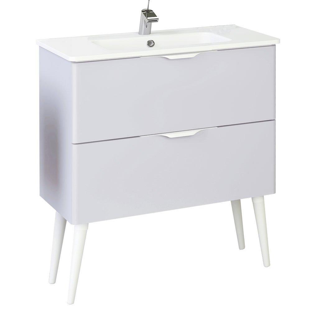 Randalco 32\'\' Bend Modern Bathroom Vanity Cabinet Set | Light Grey ...