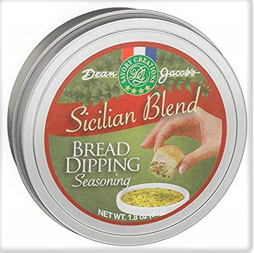 Dean Jacob's Sicilian Blend Bread Dipping Seasoning Tin