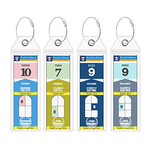 (Royal Caribbean Cruise Ship Luggage Tags Etag Holders by Cruise On)