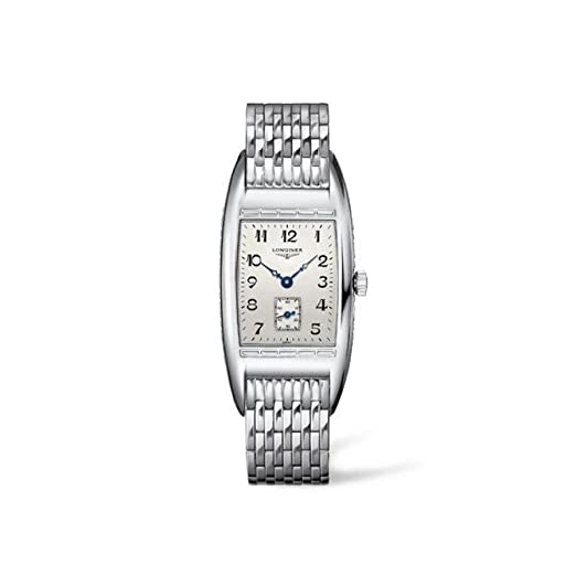 Reloj Longines Mujer l25014736 al cuarzo (batería) acero quandrante Plata Correa Acero: Amazon.es: Relojes