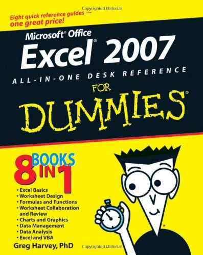 [PDF] Excel 2007 All-In-One Desk Reference For Dummies Free Download | Publisher : For Dummies | Category : Computers & Internet | ISBN 10 : 0470037385 | ISBN 13 : 9780470037386