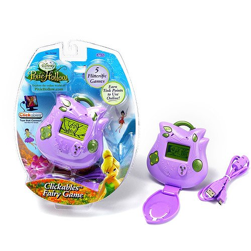 Disney Fairies Pixie Hollow Clickables Handheld Fairy Game by Disney (Image #1)