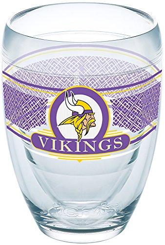 Tervis 1227661 NFL Minnesota Vikings Select Tumbler, 9 oz, Clear