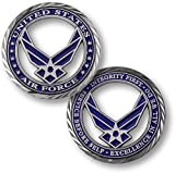Core Values - U.S. Air Force Challenge Coin