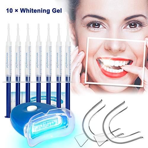 🥇 Kit de Blanqueamiento Dental Gel Blanqueador de Dientes Profesional Teeth Whitening Kit