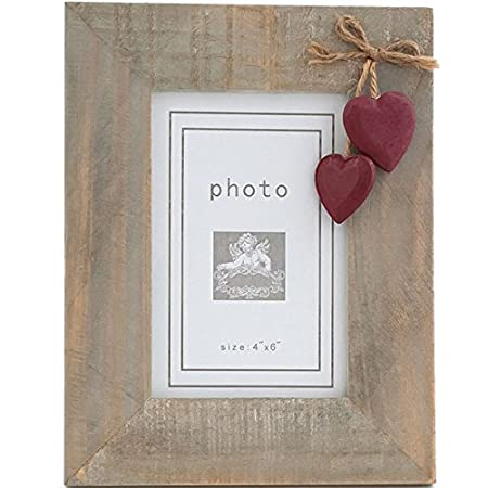 Two Hearts photo frame: Amazon.co.uk: Kitchen & Home