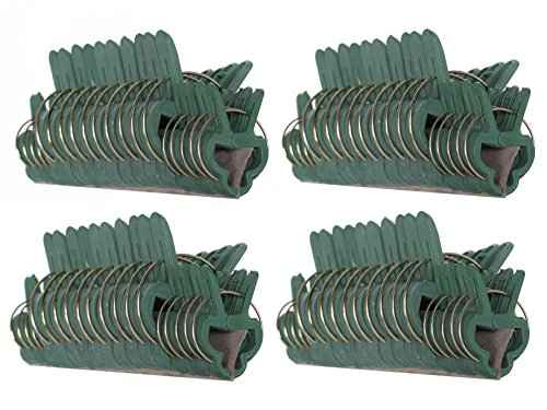 Gentle Plant - 80Pc RAM-PRO Gentle Plant & Flower Clips for Supporting Stems