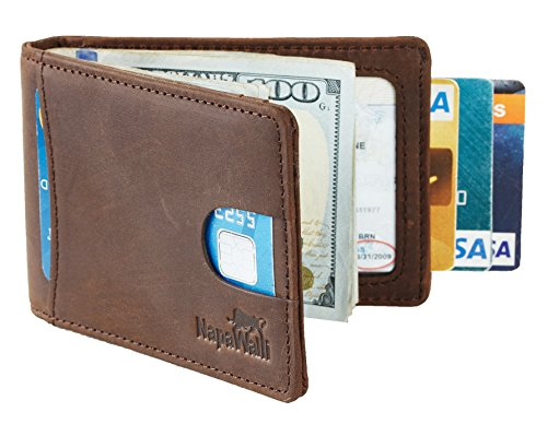 Grain Leather Travel Wallet - 8