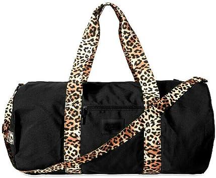 Details about  /Victorias Secret Black LG LOVE SEQUIN TOTE Weekender Get Away Overnight Bag NWT