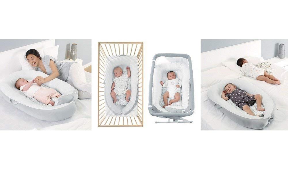 Jane Growing Baby Nest 2 en 1 Cuna y reductor para cuna anti ...