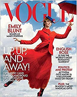 Vogue US Magazine Issue :- December 2018 Cover :- Mary