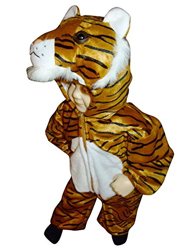 Fantasy World Tiger Halloween Costume f. Toddlers, Size: 12-18mths, F14 (World Explorer Costume)