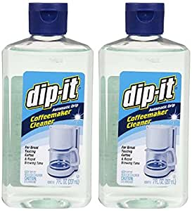 Dip It Coffee Maker Cleaner Instructions : Amazon.com: Dip-it Automatic Drip Coffeemaker Cleaner - 7 Oz (2): Kitchen & Dining