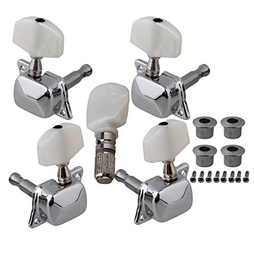 BQLZR Semiclosed Banjo Machine Head Tuning Tuner Peg with Bushing Guitar Parts