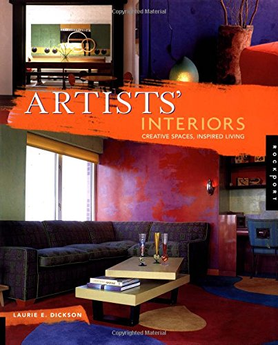 Artists' Interiors: Creative Spaces, Inspired Living by Brand: Quarry Books