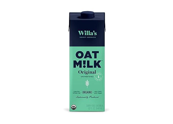 Willa's Organic Oat Milk