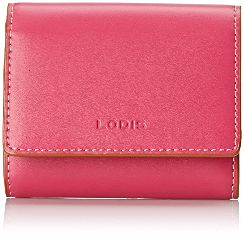 Lodis Audrey Accordion Card Case, Pink/Toffee, One Size
